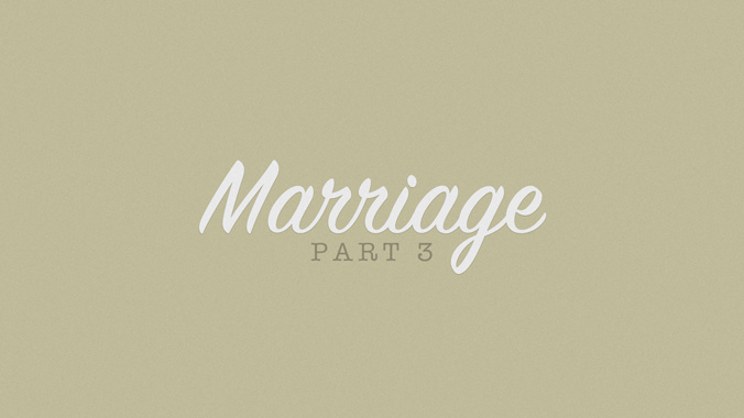 "Sermon: The ""Secret"" of Marriage: Ephesians 4:1-5:21 - Emmaus"